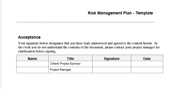 Risk management plan template the persimmon group submit your name and email to immediately download your copy of the risk management template maxwellsz