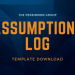 Assumptions Tracking Log Template