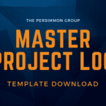 Master Project Log Template